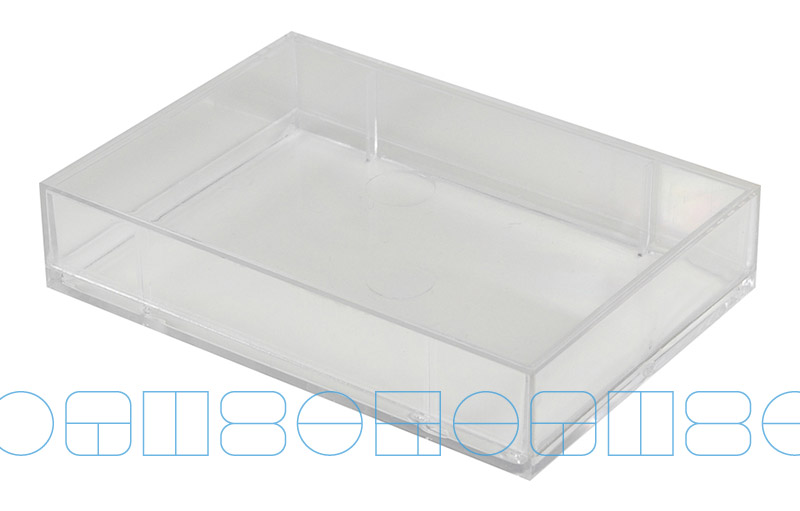 Boite Translucide130 X 84 25 Mm Pour Carte De Visite 130 82